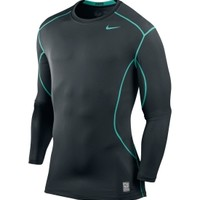 Nike Men's Pro Combat 2.0 Fitted Long Sleeve Shirt