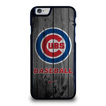 CHICAGO CUBS WOODEN LOGO iPhone 6 / 6S Case Cover