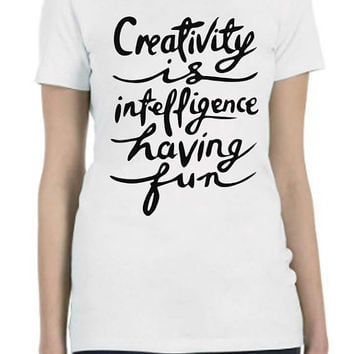 Printed T Shirt LADIES or MEN'S TEE Artistic Unique One of a Kind...Free Shipping!!