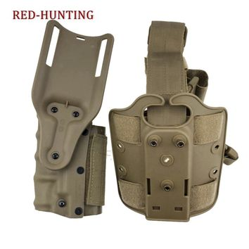 Holster For Left and Right Hand User Airsoft Tactical Hunting Safariland Belt Holster For Colt 1911 M92 M9 SP2022 P226 P228 M9A1