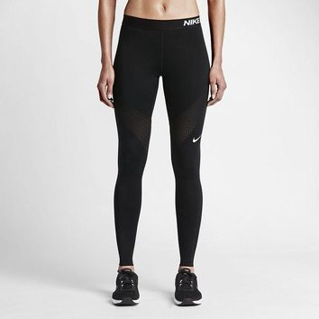 Nike Pro Exercise Fitness Gym Running Training Leggings1