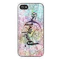 Panic At The Disco Lyrics iPhone 5s Case