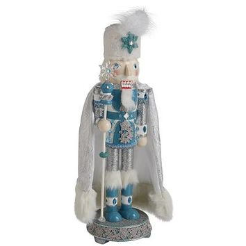 Winter Ice King Nutcracker