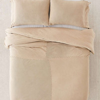 Faded Ribbed Jersey Comforter | Urban Outfitters
