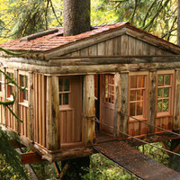 Treehouses of Treehouse Point - Temple of the Blue Moon