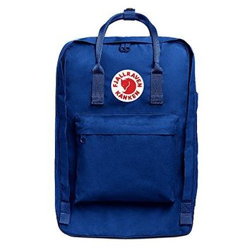 "Fjallraven - Kanken Laptop 17"" Bag, Heritage and Responsibility Since 1960, Deep Blue"