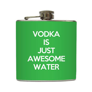 Funny Vodka is Just Awesome Water Flask from Fisk Management