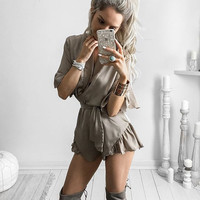 Adelaide Flounce Casual Romper