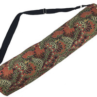 Clay Forest Peacock Yoga Mat Bag