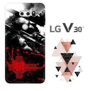 Boondock Saint Movies Series Z0346 LG V30 Case