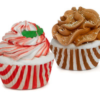 Holiday Cupcake Bath Bombs