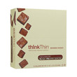 Think Products Thin Bar - Brownie Crunch - Case of 10 - 2.1 oz