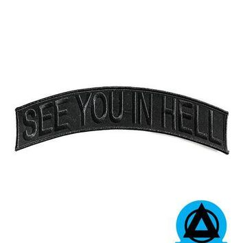 See You In Hell Large Back Patch