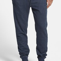 Men's BOSS Orange 'Sinclay' Pinstripe French Terry Jogger Sweatpants,
