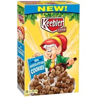 Keebler Cereal, Chocolate Chip Cookies, 11.2 Oz - Walmart.com