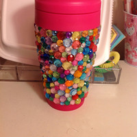 Rhinestone To Go Coffee Mug