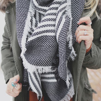 Manhattan Blanket Scarf