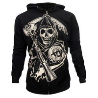 Sons of Anarchy Grim Reaper Hoodie | Gift Guide Our Top Picks For Her | FX Shop