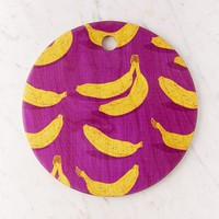 Evgenia Chuvardina For Deny Bright Bananas Cutting Board | Urban Outfitters