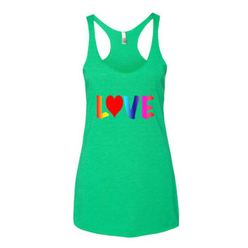 Love Women's Racerback Tank Top