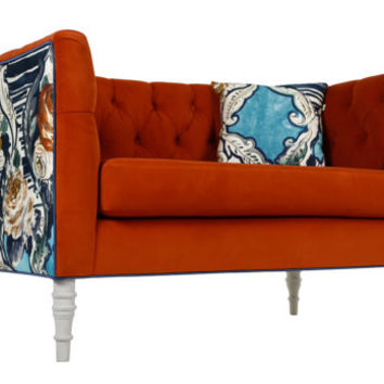 Loveseat orange