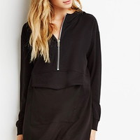 Hooded Zip Dress