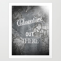 Adventure Art Print by Zach Terrell