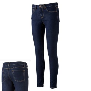 SO High-Waisted Skinny Jeans - Juniors