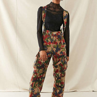 Vintage Camo Suspender Overall | Urban Outfitters