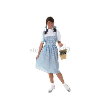 Bayi hot dorothy clothing Halloween Costume Adult Children cosplay costume for carnival party top quality