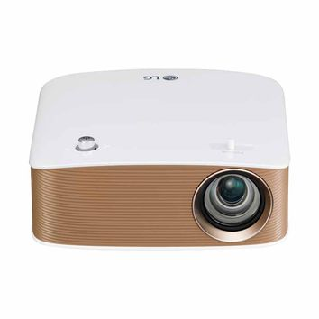 LG LED Projector with Embedded Battery and Screen Share