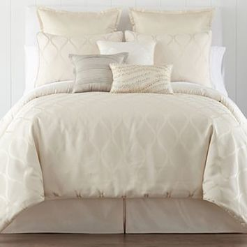 Liz Claiborne Bliss Jacquard Comforter Set & Accessories