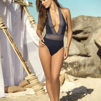 Luxury Deep V One Piece