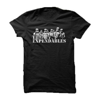 The Expendables - Stormtrooper / Star Wars parody - tee shirt