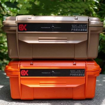 EDC Outdoor Large Professional Waterproof Box Storage Box Waterproof Box Compression Seal Drop With Shock Cushion Accessories