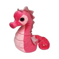 Ty Beanie Babies Majestic Seahorse Plush, Pink