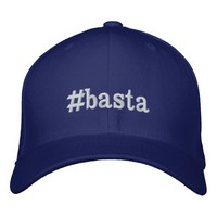 #basta embroidered baseball cap