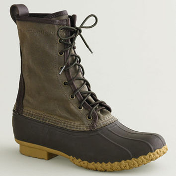 Women's Waxed-Canvas Maine Hunting Shoe: FOOTWEAR | Free Shipping at L.L.Bean