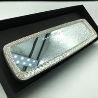 Bling Car Rearview Mirror Rhinestone crystal Cover Rear View