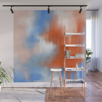 Abstract vibe 01 Wall Mural by vivigonzalezart