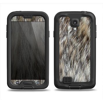 The Furry Animal  Samsung Galaxy S4 LifeProof Fre Case Skin Set