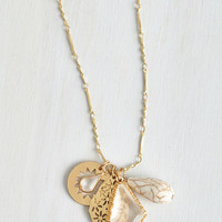 Come One, Come Allure Necklace by ModCloth