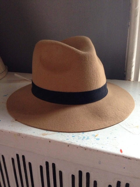 The Hatter Company Tan Fedora Hat from Bib + Tuck  1d55fa068be