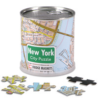 GeoToys New York City Magnetic Fridge Magnet Puzzle