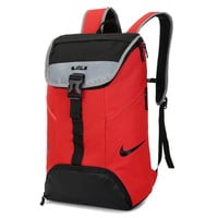 """Nike"" Casual Style Laptop Bag Shoulder Bag School Backpack Travel Bag"