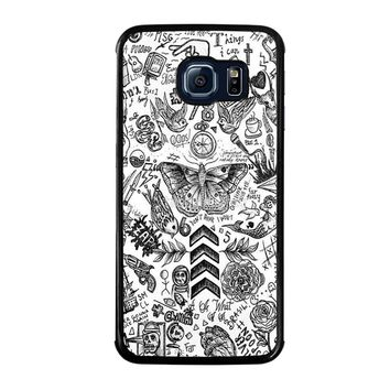 ONE DIRECTION TATTOOS Samsung Galaxy S6 Edge Case