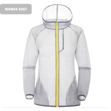 Hiking Shirt Combat Women's Windbreaker Outdoor Sport Shirt Rain Jacket Waterproof Hunting Summer Tops Camiseta Quick Dry Clothing Casaco Feminino KO_15_1