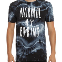 Normal Is Boring Tie Dye T-Shirt