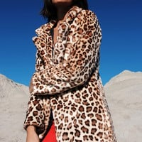 Leopardo Fur Coat