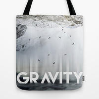 GRAVITY Tote Bag by Cafelab